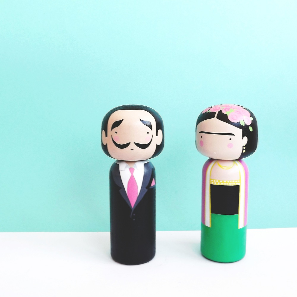 Preciosas Kokeshi Dolls