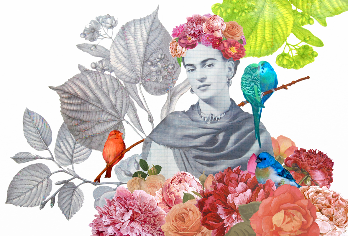 Collage Frida Kahlo
