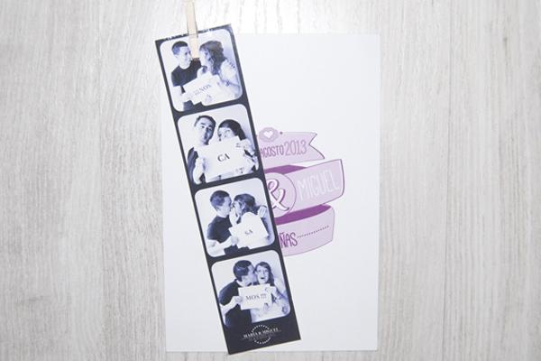 Gráfica boda María & Miguel
