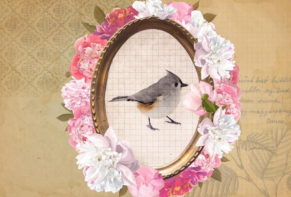Romanticismo a flor de papel