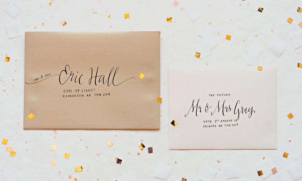 """El """"lettering"""" para bodas"""