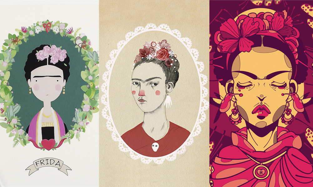 Frida Kahlo ilustrada