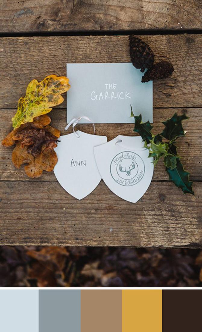 Como elegir los colores de la boda